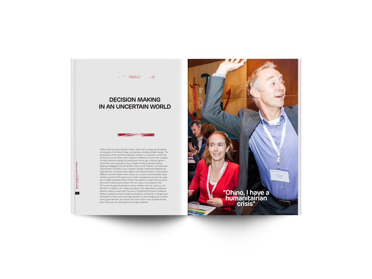 Magazine ontwerp